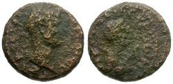 Ancient Coins - Hadrian. Decapolis Gerasa Æ15 / Tyche