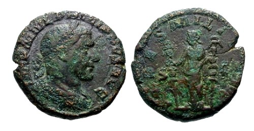 Ancient Coins - F/F Philip I AE AS / Fides