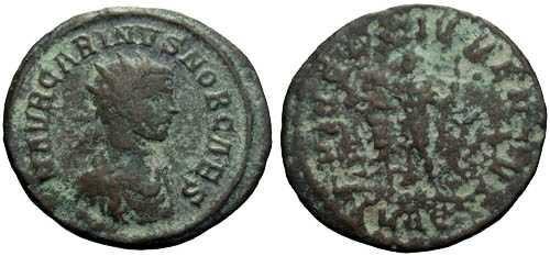 Ancient Coins - VF/aF Carinus as Caesar Antoninianus / Carinus l.