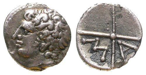 Ancient Coins - Superb EF MA Obol of Massalia Gaul
