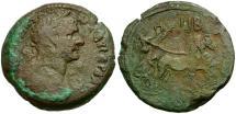 Ancient Coins - Trajan. Egypt. Alexandria Æ Drachm / Nike Driving Biga