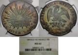 World Coins - Mexico. Republic AR 8 Reales