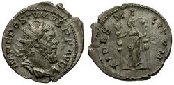 Ancient Coins - Postumus AR Antoninianus / Fides