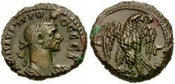 Ancient Coins - Probus (AD 276-282). Egypt. Alexandria Æ Tetradrachm / Eagle