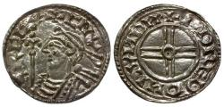 World Coins - EF/EF Anglo-Saxon Kings of England Cnut AR Penny