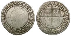 World Coins - Great Britain. Tudor. Elizabeth I (1558-1603). Sixth Issue AR Shilling