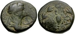Ancient Coins - Kings of Commagene. Antiochos IV Æ23 / Scorpion