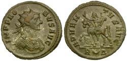 Ancient Coins - Probus Æ Antoninianus / Emperor on Horseback