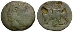 Ancient Coins - Kings of Numidia. Juba I Æ27 / Elephant