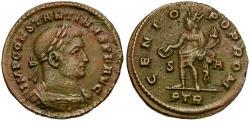 Ancient Coins - Constantine I the Great Æ Follis / Genius