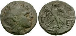 Ancient Coins - Kings of Macedon. Perseus Æ22 / Eagle