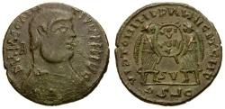 Ancient Coins - Magnentius.  Imitative Æ Centenionalis / Two Victories