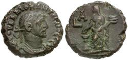 Ancient Coins - Diocletian. Egypt. Alexandria AE Tetradrachm / Eusebia