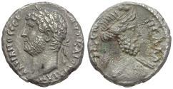 Ancient Coins - Hadrian (AD 117-138). Egypt. Alexandria BI Tetradrachm / Bust of Nilus