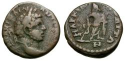 Ancient Coins - Caracalla.  Moesia. Marcianopolis Æ16 / Asklepios