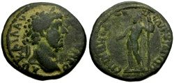 Ancient Coins - Lucius Verus, Phrygia Ancyra Æ25 / Ex CNA auction