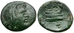 Ancient Coins - Kings of Macedon Philip V Æ16 / Prow