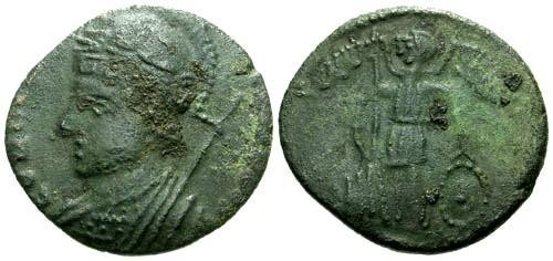 Ancient Coins - Barbarous Imitation of an Imperial Roman Bronze