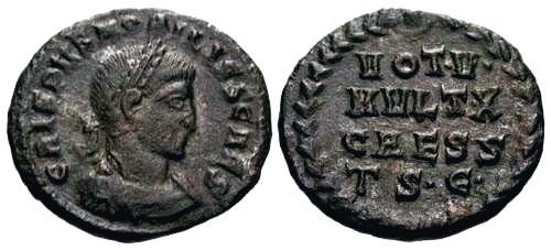 Ancient Coins - VF/VF Crispus