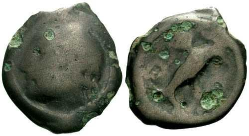 Ancient Coins - VG/VG Carnutes Tribe Celtic Potin