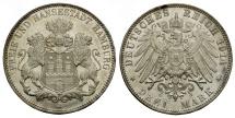 Ancient Coins - German States. Hamburg AR 3 Marks