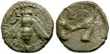 Ancient Coins - Ionia. Ephesos AR Diobol / Bee