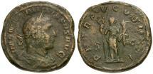 Ancient Coins - Philip I Æ Sestertius / Felicitas