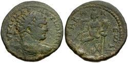 Ancient Coins - Caracalla. Seleukis and Pieria. Gabala Æ28 / Tyche
