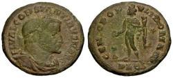 Ancient Coins - aVF/aVF Constantine I the Great as Caesar Æ Follis / Genius