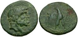 Ancient Coins - Moesia. Tomis Æ18 / Eagle