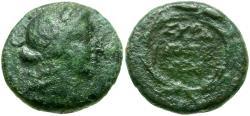 Ancient Coins - Sicily. Syracuse under Roman Rule Æ16