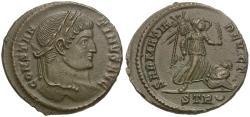 Ancient Coins - Constantine I the Great (AD 306-337) Æ Follis / Sarmatia