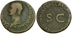 Ancient Coins - Germanicus. Stuck under Caligula Æ AS