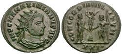 Ancient Coins - Maximian, first reign (AD 286-305) Æ Antoninianus / Jupiter