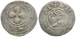 World Coins - France. Valence. Anonymous Bishops AR Denier / Double Eagle