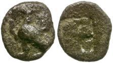 Ancient Coins - Thrace. Abdera AR Obol / Griffin
