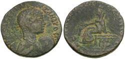Ancient Coins - Severus Alexander (AD 222-235). Mesopotamia. Edessa Æ24 / Rare Bust Type