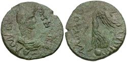 Ancient Coins - Thessaly. Koinon. Time of Nero Pseudo-Autonomous Issue Æ Diassarion / Eirene