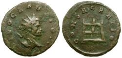 Ancient Coins - Divus Claudius II Gothicus Æ Antoninianus / Altar