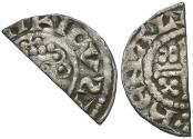 World Coins - Great Britain. Norman Kings. John (1166-1216) AR Penny / Cut for Change
