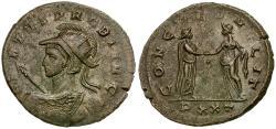Ancient Coins - Probus (AD 276-282) Æ Antoninianus / Heroic Bust