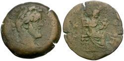 Ancient Coins - Antoninus Pius (AD 138-161). Egypt. Alexandria Æ Drachm / Isis Suckling Horus