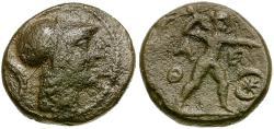 Ancient Coins - Attica. Athens Æ Chalkous / Zeus