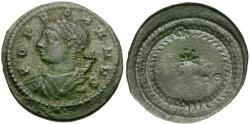 Ancient Coins - Constantine I the Great (AD 306-337). Commemorative Series Æ4 / POP ROM