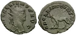 Ancient Coins - Gallienus, sole reign (AD 260-268) Æ Antoninianus / Griffin