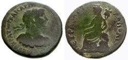Ancient Coins - gF+/gF+ Hadrian, Syria, Decapolis, Petra Æ27 / Tyche