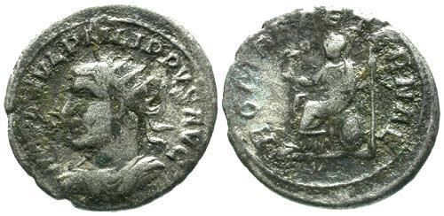 Ancient Coins - F/aF Philip I AR Antoninianus / Left Facing Bust