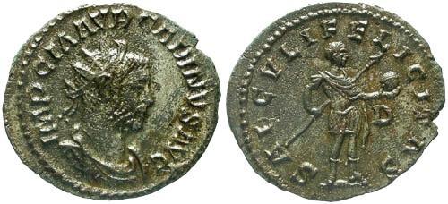 Ancient Coins - VF/VF Carinus Antoninianus / Carinus