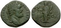 Ancient Coins - Septimius Severus Æ Sestertius / Liberalitas