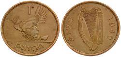 World Coins - Ireland 1 Penny